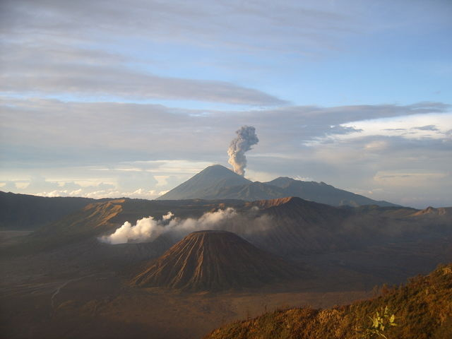 Vulkaan Bromo Java Indonesië